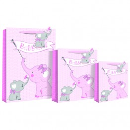 Baby Girl Elephant Extra Large Bags