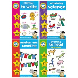 3-5 Pre School Intro Science | Numbers & Counting | To Write | To Read with Stickers