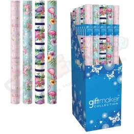 3M Floral Design Assorted Gift Wrap Roll