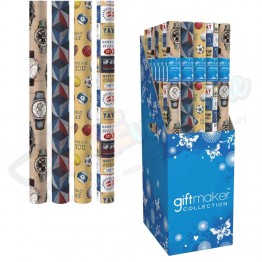 3M Classic Design Assorted Gift Wrap Roll