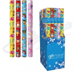 3M Kids Design Assorted Gift Wrap Roll