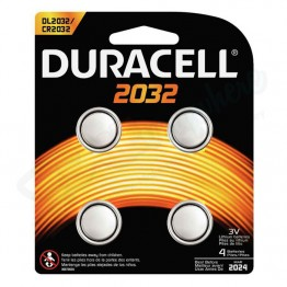 Duracell Power Battery 2032, Pack of 4 Carded