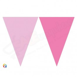9 Flags Triangle Banner Believe In Unicorn