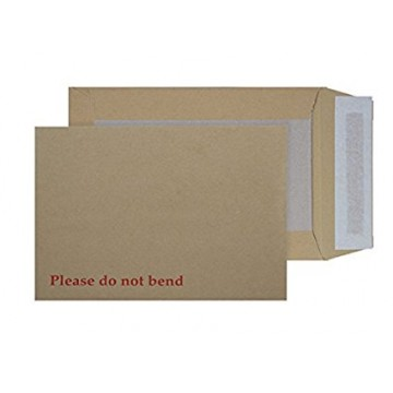 Board Back Manilla / Brown Envelopes A6/C6, Pack of 250