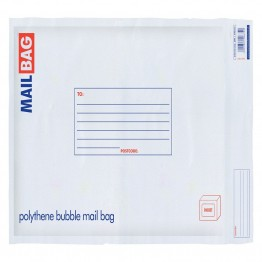 Mail Bag Poly Bubble CD Size, 175 x 165mm