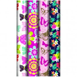 3M Floral Gift Wrap Rolls