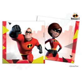 2 Ply Paper Napkins Incredibles 2, Pack of 20