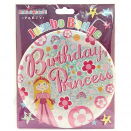 Princess Party Badges