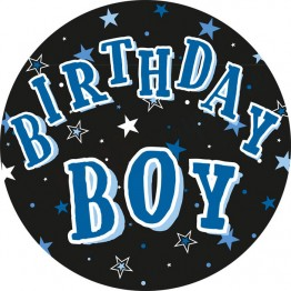 Birthday Boy Party Badges