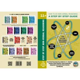 11+ Preparation For 11+ & 12+ Tests, Step By Step Non Verbal Reasoning Book