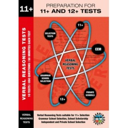 11+ Preparation For 11+ & 12+ Tests, Verbal Reasoning Multi Choice Book 1