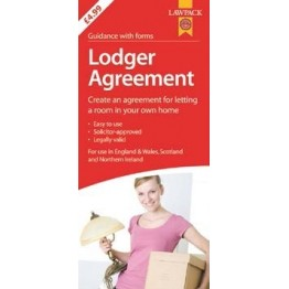 Law Pack Lodger Agreement, England & Wales | RRP 6.99