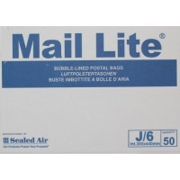 J/6 Mail Lite White Bubble Lined Envelopes 330 x 440mm - Box of 50