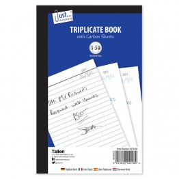 JS Triplicate Book with Carbon  A5/C5, 1-50