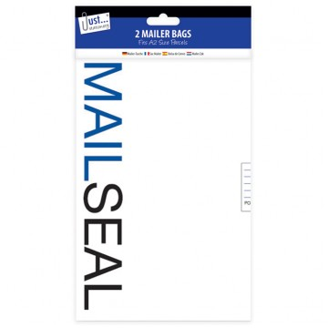 Mail Seal Poly Mailer Bags A2, Pack of 2