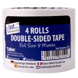 JS Double Sided Tape Pack of 4