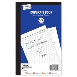 JS Duplicate Book with Carbon  A5/C5, 1-80