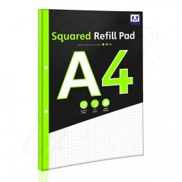 A* Refill Pad A4 Square, 140 Pages