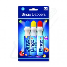 A* Bingo Dabbers, Pack of 3
