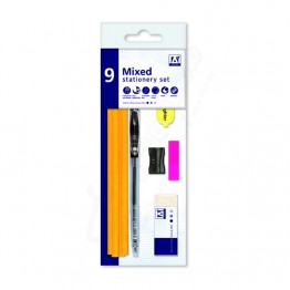 Anker Mixed Stationery Set, Pack of 9