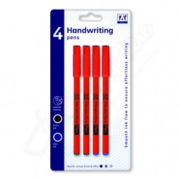 A* Handwriting Pens, Pack Of 4