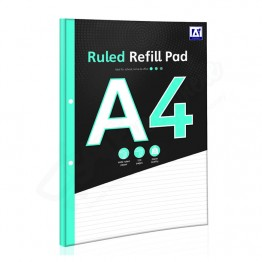 A* Refill Pad A4 Ruled, 140 Pages