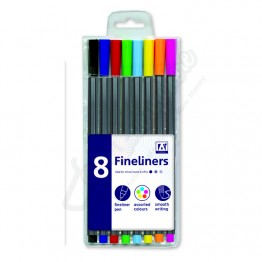 A* fineliners Pen Pack Of 8