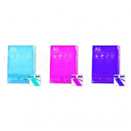 Blok Collection Notebook A5/C5 Asst Colours with Stationery Set