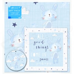 Baby Boy Design, 2 Wrapping Sheets 70 x 50mm + 2Tags + 1Card