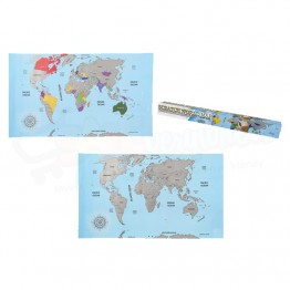 Scratch your own World Map