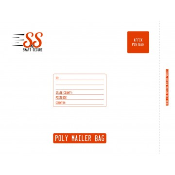 Smart n Secure XL | Extra Large Poly Mailer Bags | Poly Mailing Bags, 425 x 510 mm - Pack of 25