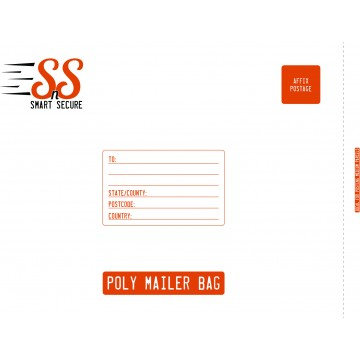 Smart n Secure Jumbo Poly Mailer Bags | Poly Mailing Bags, 500 x 650 mm - Pack of 25