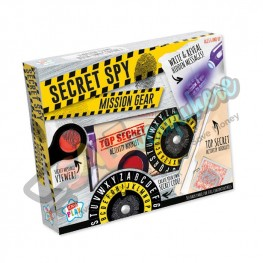 Kids Play Secret Spy Mission Gear