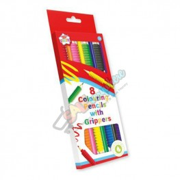 Kids Create 8 Colouring Pencils with Grippers