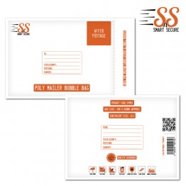 SnS Poly Mailer Bubble Bag Small, 200x270mm