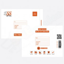 SnS XXL | Extra Extra Large Poly Mailer Bags | Poly Mailing Bags, 450 x 590 mm - Pack of 25