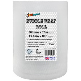 SE Bubble Wrap Roll 500mm x 25m