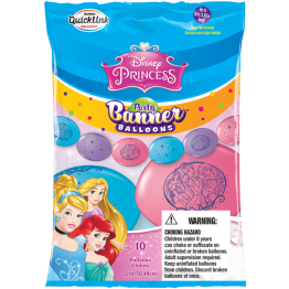 10 Party Balloons Disney Princess