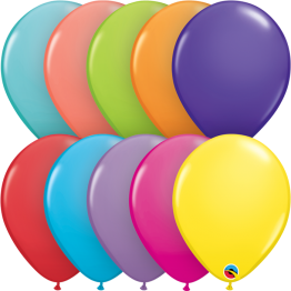 6 Special Assorted Plain Balloon Hanging Pack Qualatex