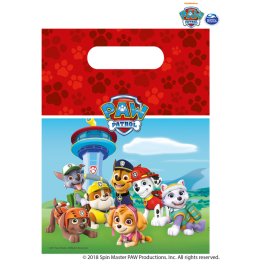6 Party Bags Paw Patrol