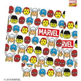 20 Paper Napkins Three Ply Avengers Pop Comic