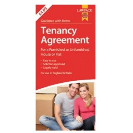 Law Pack Tenancy Agreement, England & Wales | RRP 6.99