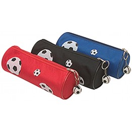 Football Round Cylinder Pencil Case