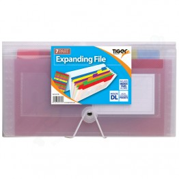 Tiger Expanding File with Index Tab & Card DL, 7 Part