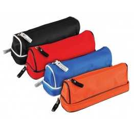 Dome Double Zip Shaped Assorted Pencil Case