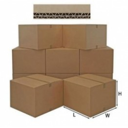 Double Wall Cardboard Box 45.7cm x 45.7cm x 45.7cm