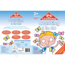 3+ FTL Pre School Counting 1 to 20 with Stickers