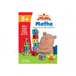 5+ HW Maths with Stickers Key Skill Stages