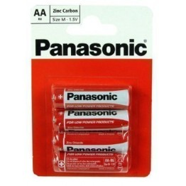 Panasonic Battery AA, Pack of 4 Carded