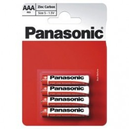 Panasonic Battery AAA, Pack of 4 Carded